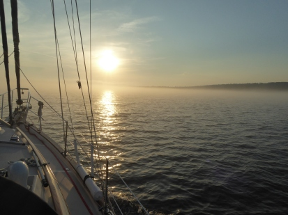 Sunset Over Fog, Isle Royale