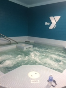 World's Best Whirlpool at the YMCA in Grand Marais, MN.