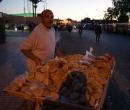 Marrakech, Bread Vendor