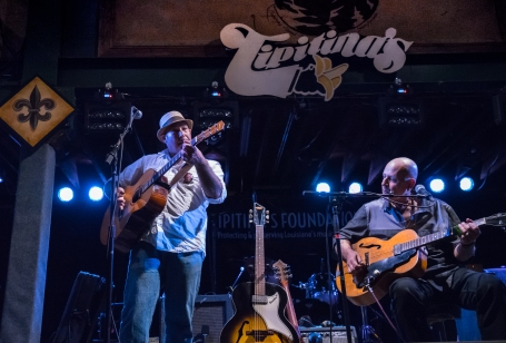 Playing the Blues at Tipitina, NOLA