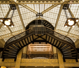 Rookery Building, LaSalle Street, Chicago